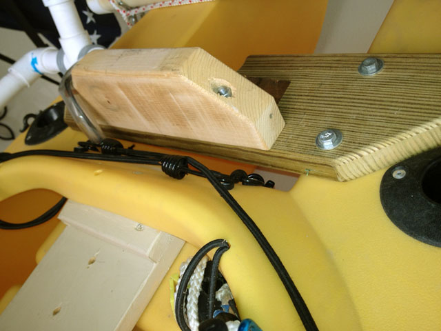 May 2012 for Mounting a transom mount trolling motor on the bow