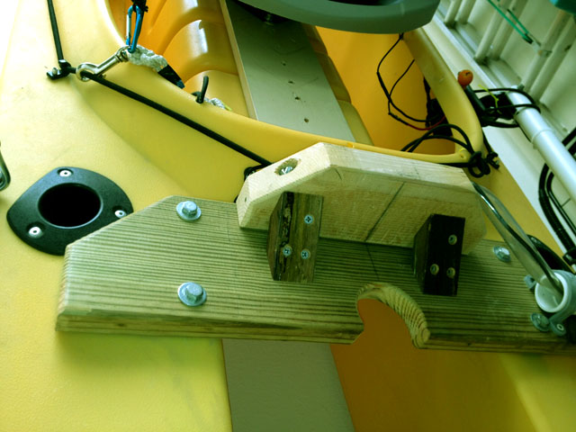 DIY transom mount for electric trolling motor - RS - Texas
