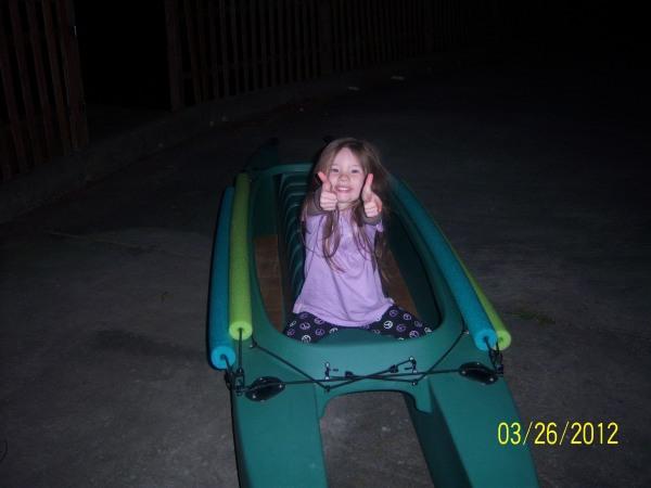 children like the W fishing kayak - Tennessee