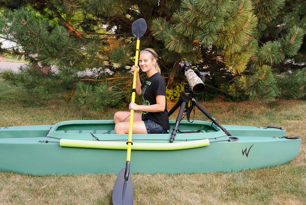 stable kayak for wildlife photography