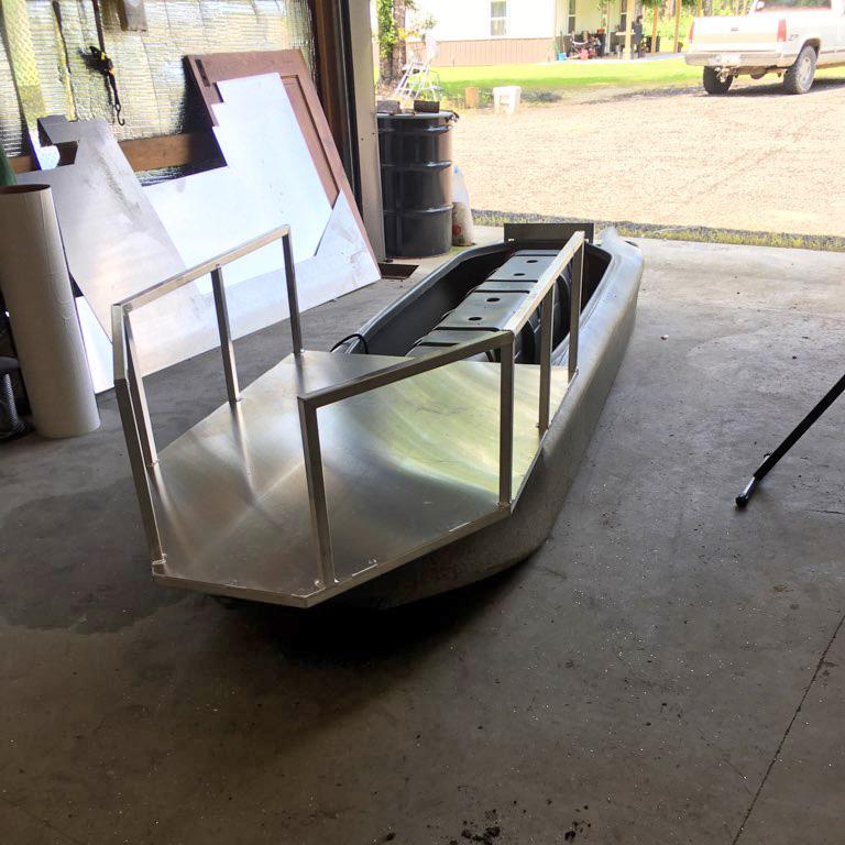 S4 micro skiff - Jon boat for hunting