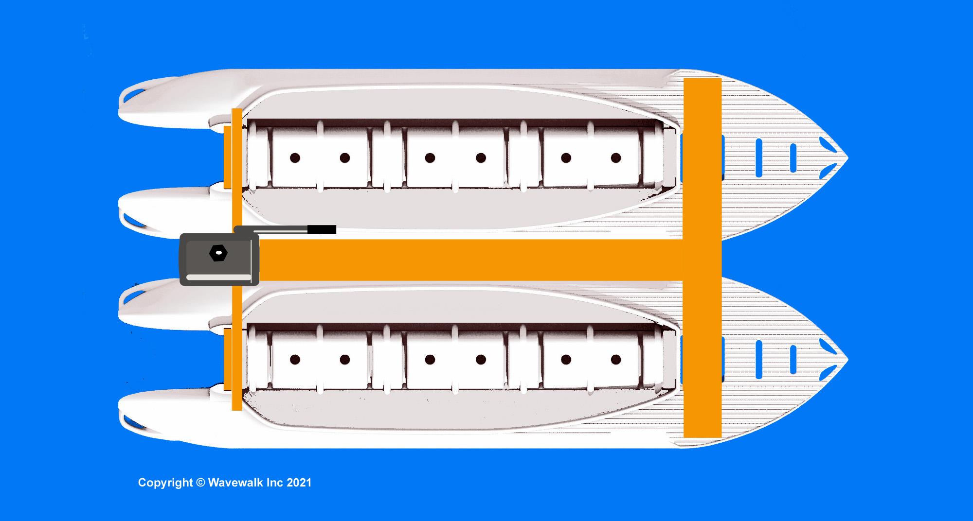Twin S4 Multihull Boat